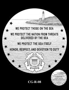 2020 Coast Guard Medal Candidate Design CG-R-08