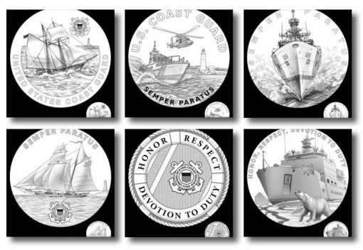 2020 Coast Guard Medal Candidate Designs