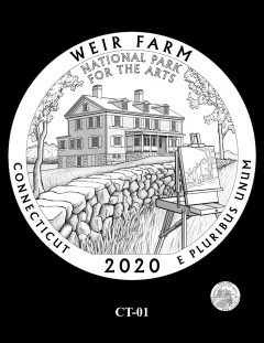 2020 Weir Farm Quarter Design Candidate CT-01
