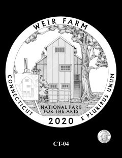 2020 Weir Farm Quarter Design Candidate CT-04