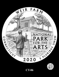 2020 Weir Farm Quarter Design Candidate CT-06