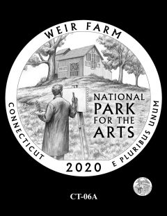2020 Weir Farm Quarter Design Candidate CT-06A