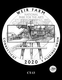 2020 Weir Farm Quarter Design Candidate CT-13