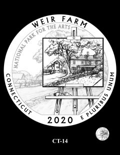 2020 Weir Farm Quarter Design Candidate CT-14