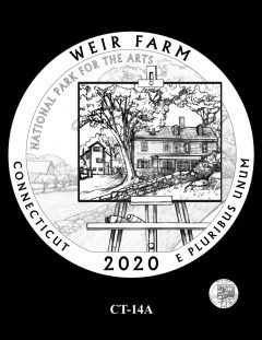 2020 Weir Farm Quarter Design Candidate CT-14A