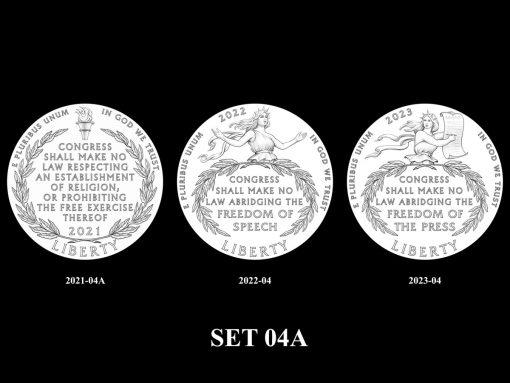 2021-2025 Proof American Platinum Eagle Concept Design - SET 04A