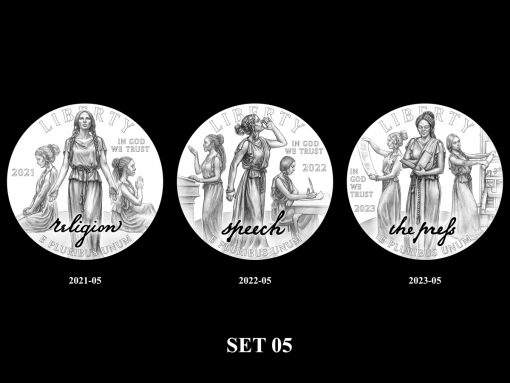 2021-2025 Proof American Platinum Eagle Concept Design - Set 05