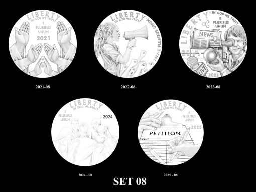 2021-2025 Proof American Platinum Eagle Concept Design - Set 08