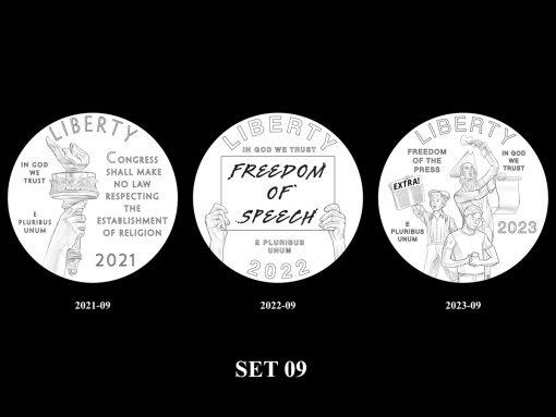 2021-2025 Proof American Platinum Eagle Concept Design - Set 09