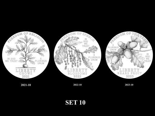 2021-2025 Proof American Platinum Eagle Concept Design - Set 10
