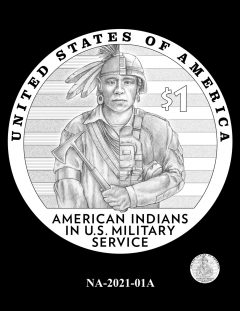 2021 Native American $1 Coin Candidate Design NA-2021-01A