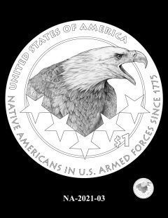 2021 Native American $1 Coin Candidate Design NA-2021-03