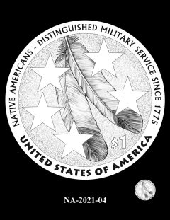 2021 Native American $1 Coin Candidate Design NA-2021-04