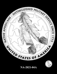 2021 Native American $1 Coin Candidate Design NA-2021-04A