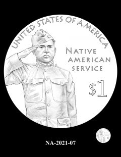 2021 Native American $1 Coin Candidate Design NA-2021-07