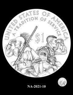 2021 Native American $1 Coin Candidate Design NA-2021-10