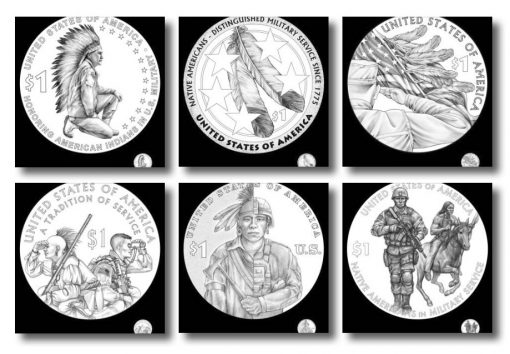 2021 Native American $1 Coin Candidate Designs