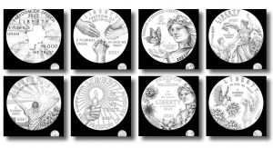 2021-2025 Proof American Platinum Eagle Concept Designs