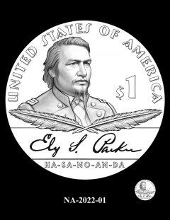 2022 Native American $1 Coin Candidate Design NA-2022-01
