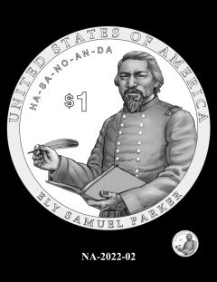 2022 Native American $1 Coin Candidate Design NA-2022-02