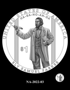 2022 Native American $1 Coin Candidate Design NA-2022-03