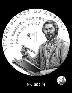 2022 Native American $1 Coin Candidate Design NA-2022-04