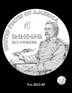 2022 Native American $1 Coin Candidate Design NA-2022-05