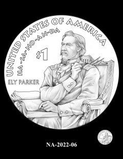 2022 Native American $1 Coin Candidate Design NA-2022-06