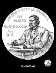 2022 Native American $1 Coin Candidate Design NA-2022-07