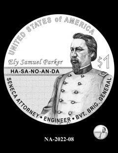 2022 Native American $1 Coin Candidate Design NA-2022-08