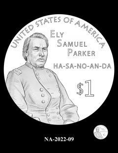 2022 Native American $1 Coin Candidate Design NA-2022-09