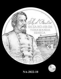 2022 Native American $1 Coin Candidate Design NA-2022-10