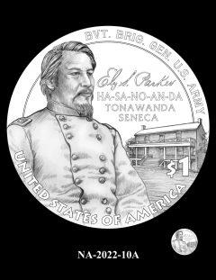 2022 Native American $1 Coin Candidate Design NA-2022-10A