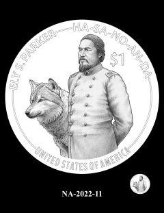 2022 Native American $1 Coin Candidate Design NA-2022-11
