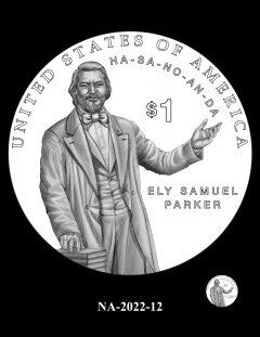 2022 Native American $1 Coin Candidate Design NA-2022-12