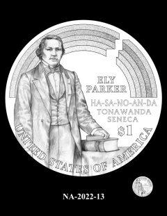 2022 Native American $1 Coin Candidate Design NA-2022-13