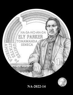 2022 Native American $1 Coin Candidate Design NA-2022-14