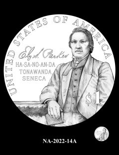 2022 Native American $1 Coin Candidate Design NA-2022-14A