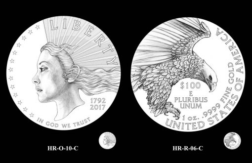 CFA Recommended Designs for the 2019 American Liberty Gold Coin and Silver Medal