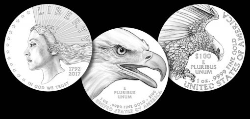 Recommended Designs for the 2019 American Liberty Gold Coin and Silver Medal