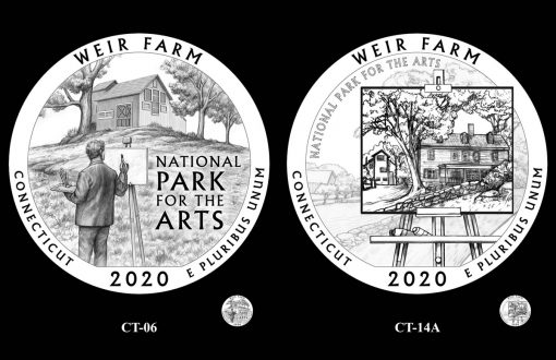 Recommended Designs for the 2020 Weir Farm National Historic Site Quarter