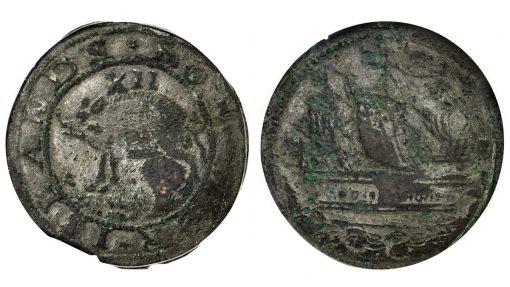 1616 Sommer Islands Shilling