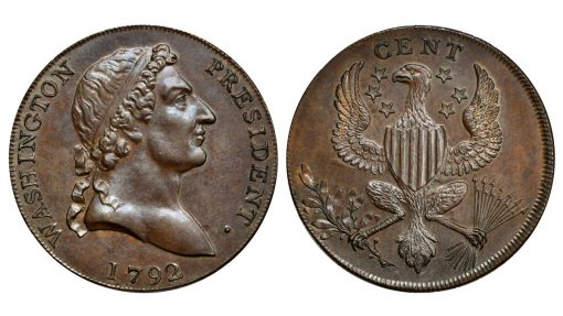 1792 Washington Roman Head cent