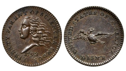 1792 copper disme