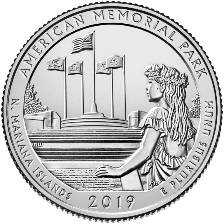 2019 America the Beautiful Quarter Images and Release Dates