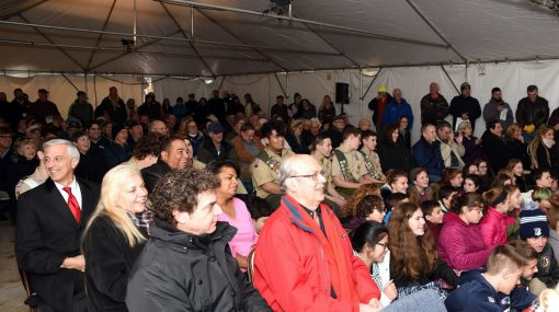 Block Island Quarter Launch Ceremony Crowd