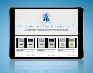 CAG Artifact Registry Debuts with Armstrong Items