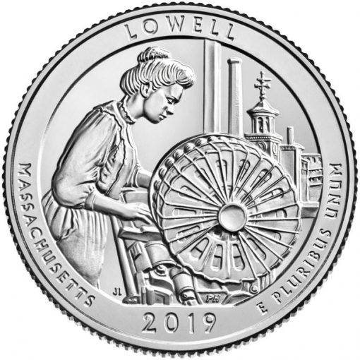Lowell National Historical Park Quarter