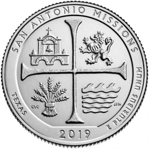 San Antonio Missions National Historical Park Quarter