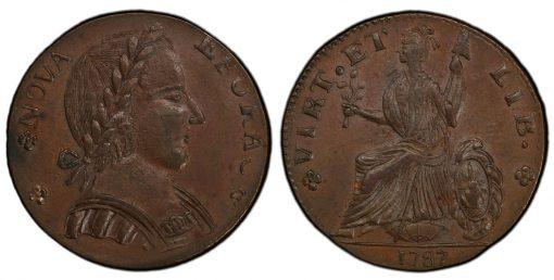 1787 NY Nova Eborac Large Head